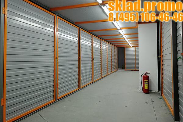 Индивидуальный складской бокс 10 квадратных метров хранения