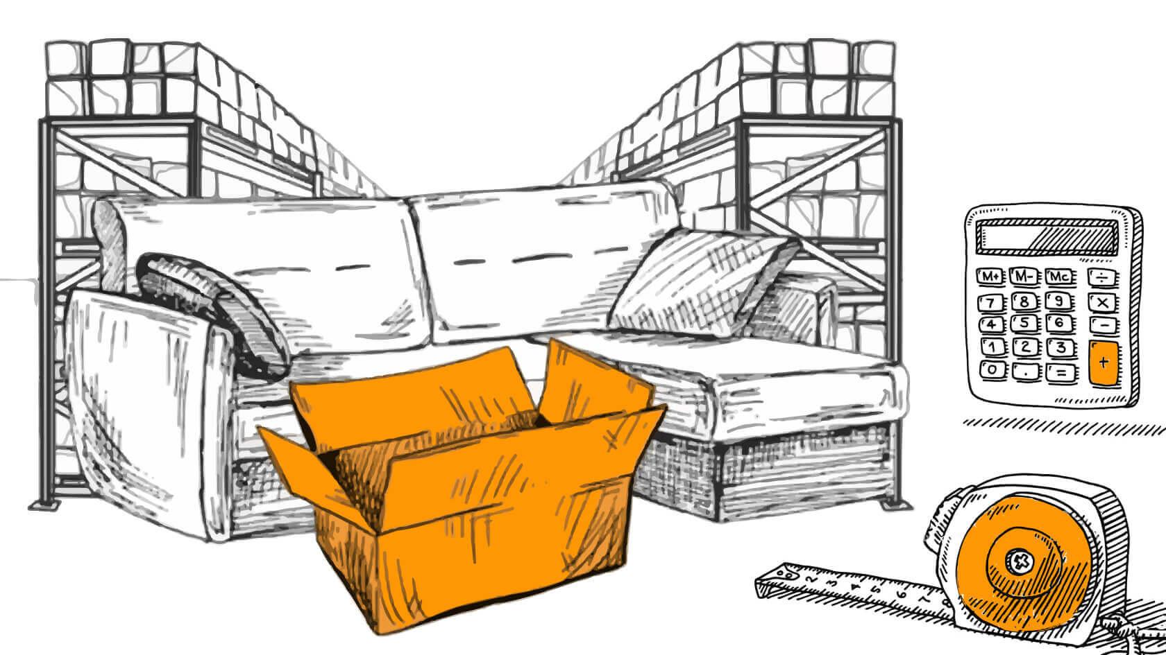 Стоимость хранения вещей в Люблино